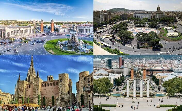 Visit The City Center Of Barcelona