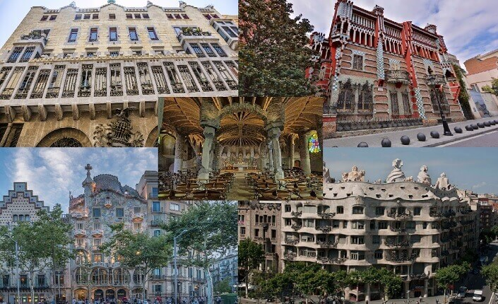 Must See Gaudi Buildings Barcelona