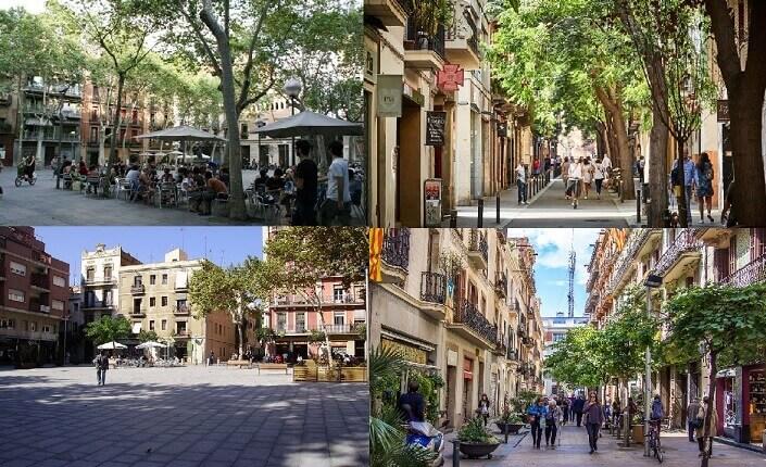 Visita El Barrio De Gracia Barcelona