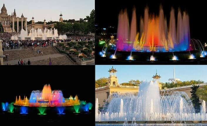 Magic Fountain Barcelona Attraction