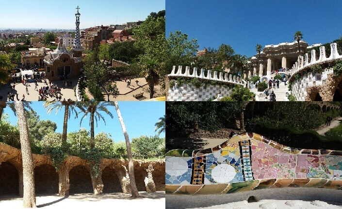 Park Guell Barcelona Gaudi Attraction