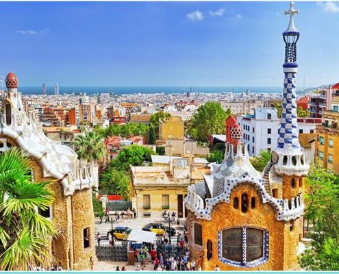 The best Barcelona attractions park Guell view tips and guide