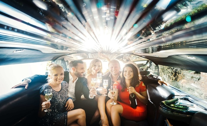 Barcelona Limousine Party