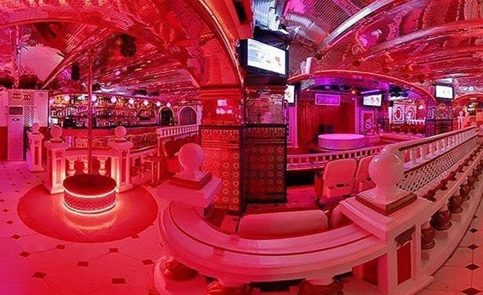 Inside of the Bagdad Club Barcelona