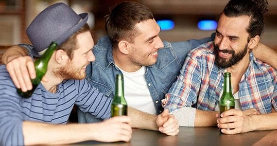 Guys saving money with stag party barcelona packages and deals