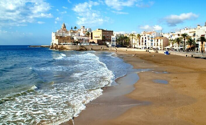 Best 17 Beaches In Sitges Barcelona