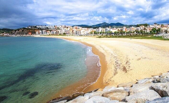 Arenys De Mar Barcelona Beach