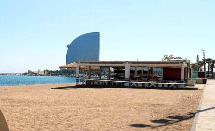 Barcelona Beach Sant Sebastia