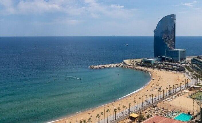 Barceloneta Playa Barcelona