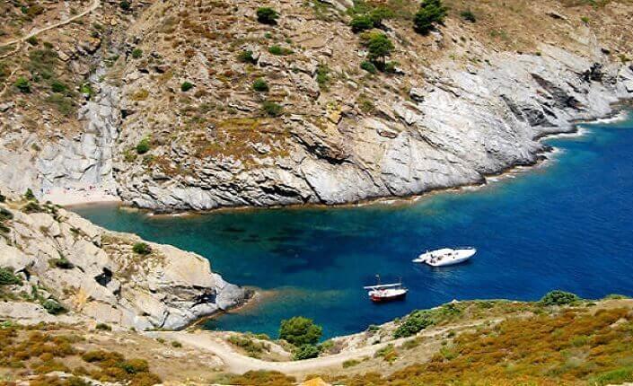 Playa Cala Sa Sabolla Cataluña Costa Brava
