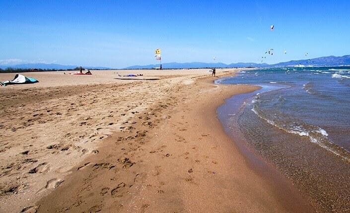 Beach Platja de Sant Pere Pescador Catalonia Costa Brava
