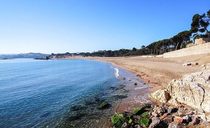 Playa Platja d'Empúries Cataluña Costa Brava
