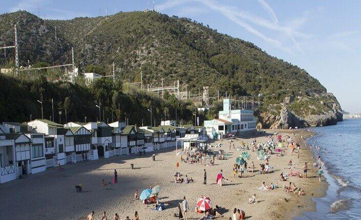 Beaches Les Casetes del Garraf Barcelona