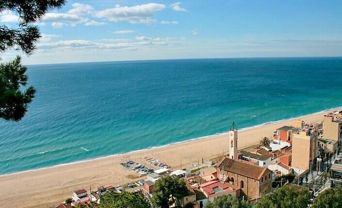 Mejor Playa Montgat Barcelona