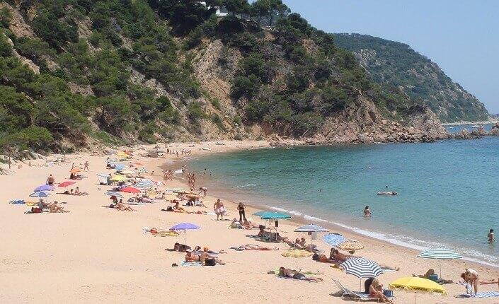 Mejor Playa De Costa Brava Cala del Senyor Ramon Cataluña