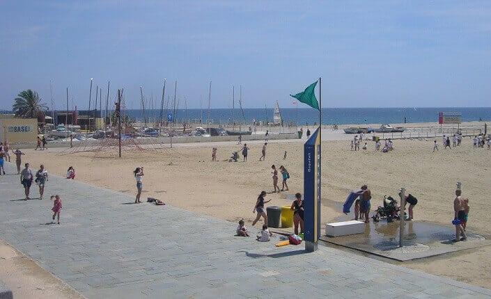 Bogatell Barcelona Beach