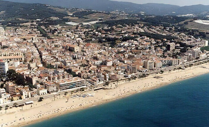 Canet de Mar Beach Barcelona