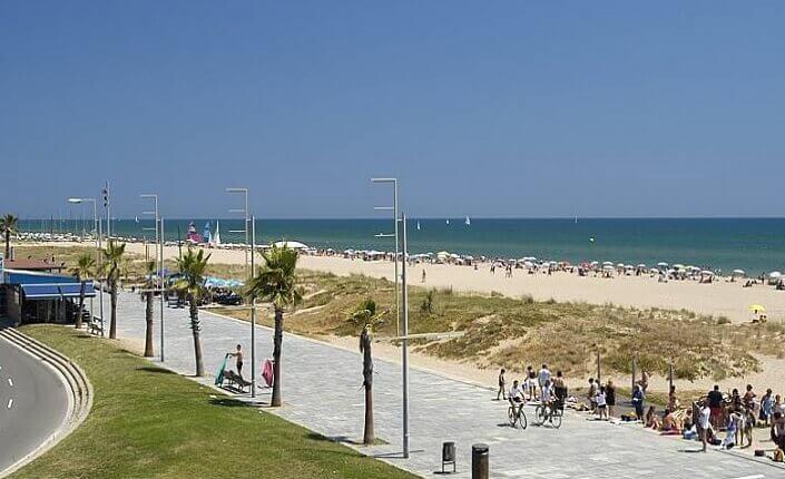 Castelldefels Playa Cerca De Barcelona