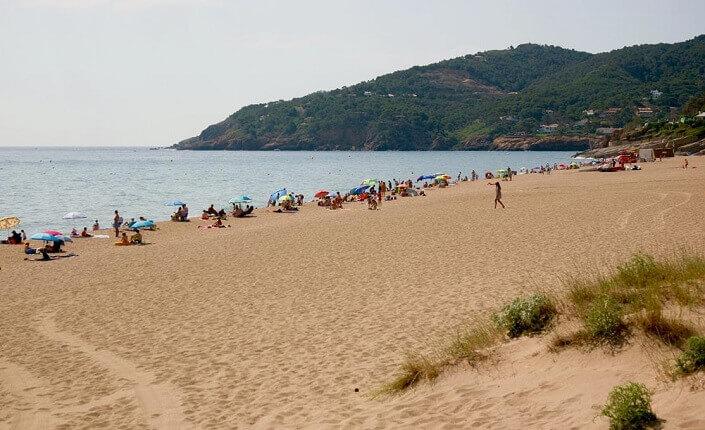 Costa Brava Cataluña Playas Platja de Pals and La Gola del Ter