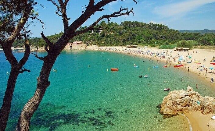 Costa Brava Platja de Castell Playa Castell