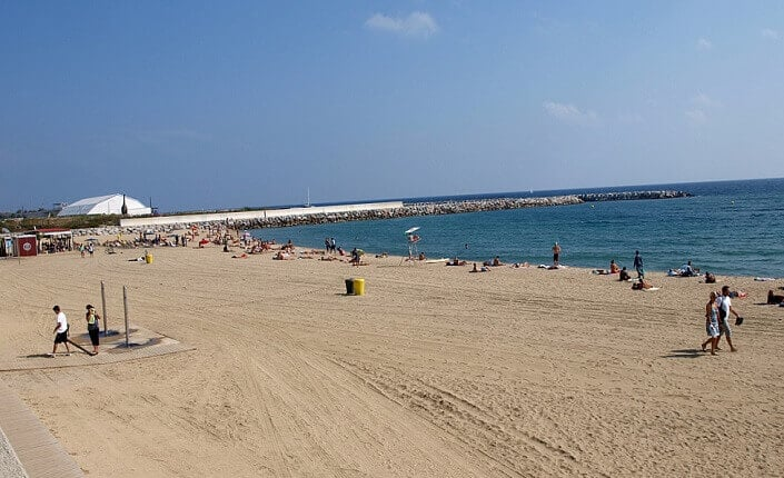 Levant Beach Barcelona