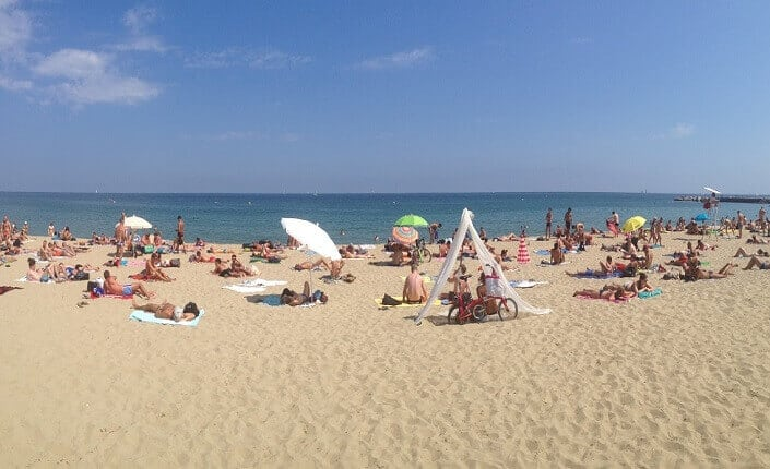 Mar Bella Beach Barcelona