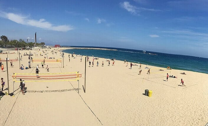 Nova Icaria Barcelona Beach