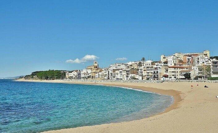 Sant Pol de Mar Beach Costa Brava Best Beaches