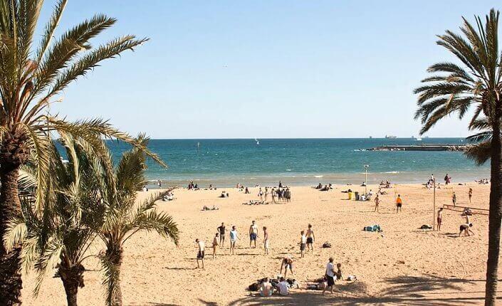 Somorrostro Playa Barcelona