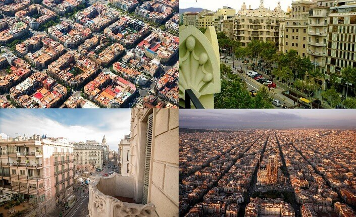 Eixample Barcelona District