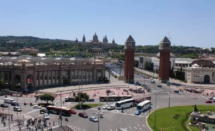 Sants Montjuic Barcelona District
