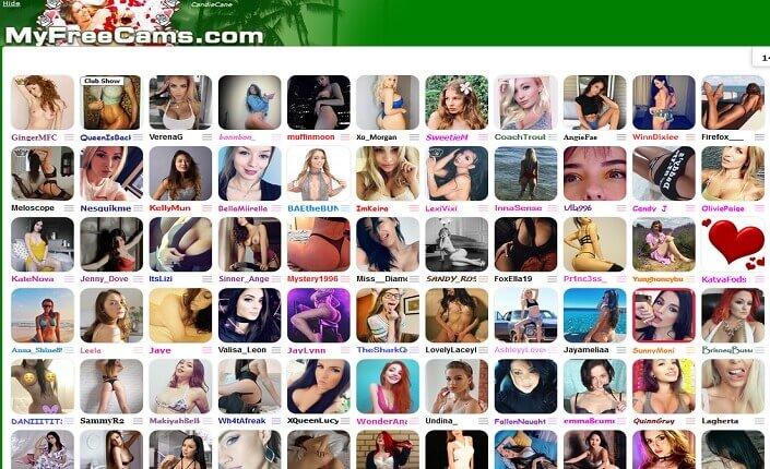 MyFreeCams Webcams Site