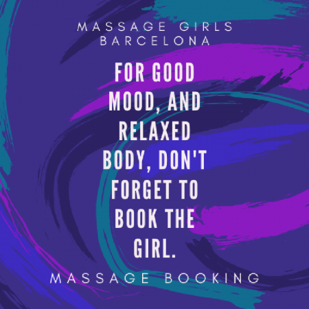 Massage Booking Barcelona